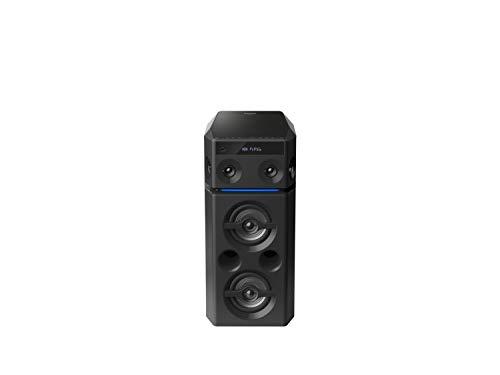 Panasonic SC-UA30E-K Urban Audio System incl(Bluetooth, Radio, USB, AUX, 2 Mikrofon-Eingänge, schwarz)