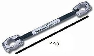 misura interasse fori da centro fascetta a centro fascetta cm 26.5 Traversino Rinforzo Manubrio Tommaselli foro 22 mm D