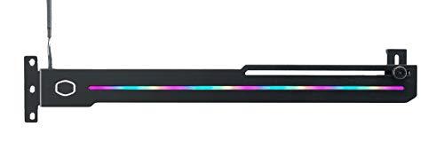 Cooler Master ELV8 GPU-Klammer mit ARGB-Streifenbeleuchtung – Universeller Grafikkartenhalter und Halterung