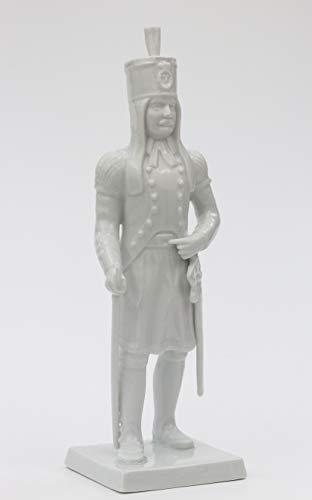 Bergbau Geschenk Porzellan Figur Statuette Bergmann Blaufarbenältester