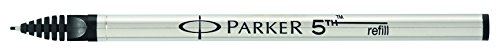 Parker 5th refill for Parker 5th Technology Ink Pens, Fine point, Black ink, 1 unit per pack (S0958790) Photo #2