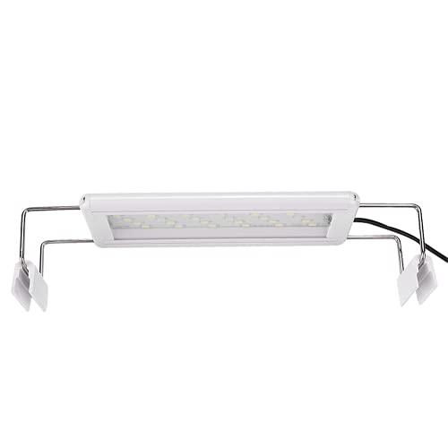 Eulbevoli Lámpara para Pecera, Luz para Pecera, 200-240 V, 5 W, Lámpara LED para Acuario con Enchufe De La UE para Usar En Iluminación De Pecera para Decoración De Interiores