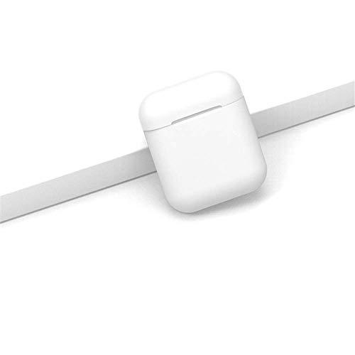 Chunjiao Bluetooth inalámbrico de auriculares Alta Definición calidad de sonido de la música de los auriculares con la carga de la caja for Xiaomi Nota 6 7 8 Pro como se muestra i12-White Audífonos de