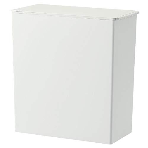 無印良品 ポリプロピレンごみ箱・角型・袋止め付/大(約11L)約幅15.5×奥行30×高31cm