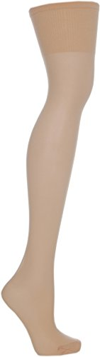 Cosyfeet Extra Roomy Softhold Premium Hold-ups Petite Length 30 Denier - Natural - One Size Fits All