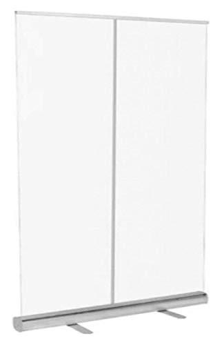 Cnley Transparente Partition Office Roll Up Banner Roll Up Partitions Pantalla Protectora Divisor de plástico Portátil Portátil Transparente Pantalla de higiene Clear Suelo PVC Mobile Shield
