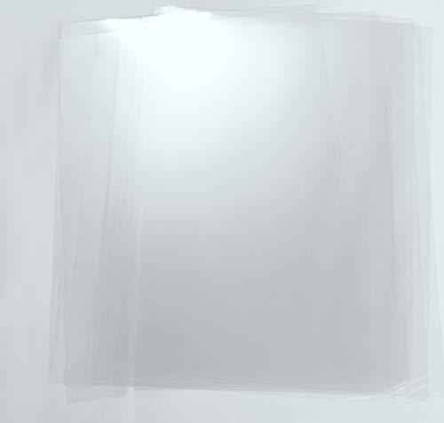 Mylar Schablonen Material 10 Stück DIN A4 - stabile, glasklare Folie in 175 µ für Airbrush-Profis
