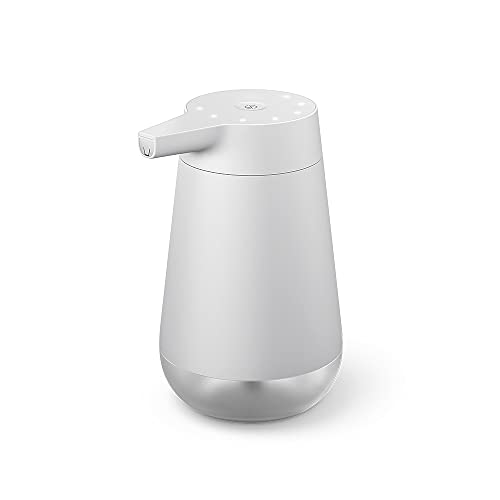 Introducing Amazon Smart Soap Dispenser, automatic 12-oz dispenser with 20-second timer, Works with Alexa
