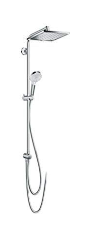hansgrohe Crometta E 240 wassersparendes Reno Duschsystem (2 Strahlarten) Chrom