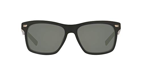 Costa Del Mar Men s Aransas Sunglasses, Matte Black Grey Polarized-580G, 58 mm