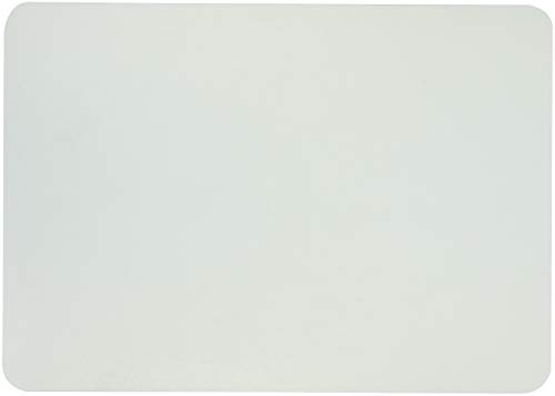 """Artistic Eco-Clear Antimicrobial Frosted Desk Pad, 12"""" x 17"""" 