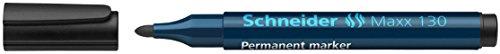 Schneider Maxx 130 Permanent-Marker (Strichstärke: 1-3 mm, nachfüllbar) schwarz