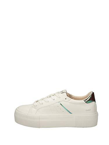 ONLY Damen Sneaker Low ONLSAILOR PU FOIL Sneaker weiß 39
