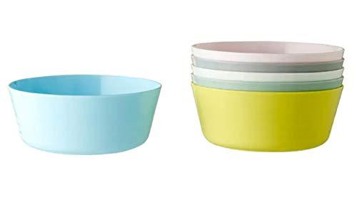 IKEA 204.613.78 Kalas - Juego de 6 platos de plástico, multicolor
