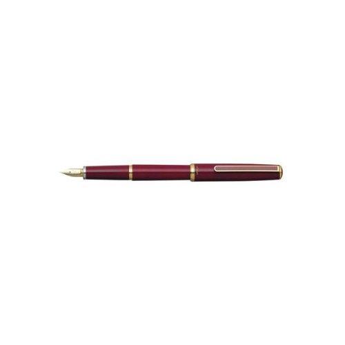 Pluma estilográfica estándar 14 K PTL-5000A #70 Rojo (mediano)