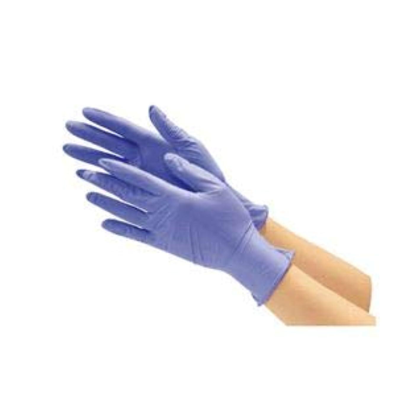 何もない時代酸化物川西工業 ニトリル使い切り手袋 ブルーL 10箱