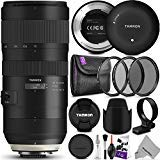 Tamron SP 70-200mm f/2.8 Di VC USD G2 Lens for Nikon F Cameras + Tamron Tap-in...