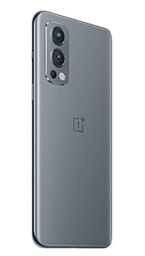 OnePlus Nord 2 5G 12 GB RAM 256 GB SIM-freies Smartphone mit Dreifachkamera und 65W Warp Charge - 2 Jahre Garantie - Grey Sierra - 4