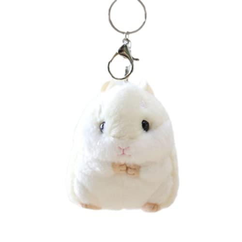 Animales de Peluche y Juguetes de Peluche Colgante Hamster Llavero Muñeca Muñeca Escuela Accesorios Accesorios Actividad Regalos 10 cm
