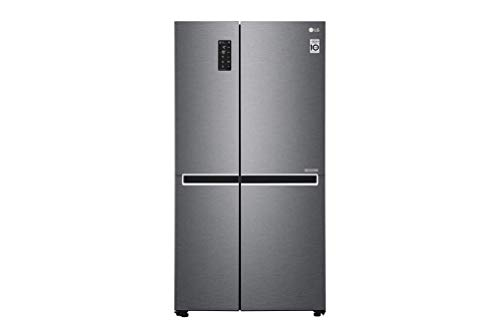 LG GSB470BASZ nevera puerta lado a lado Independiente Grafito 613 L A++ - Frigorífico side-by-side (Independiente, Grafito, Puerta americana, LED, Tocar, LED)