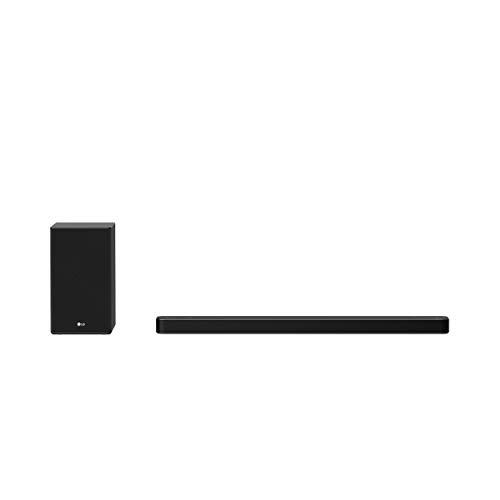 LG Electronics DSP8YA Soundbar (440 Watt) mit Meridian-Technologie und High-Res-Audio-Unterstützung (Dolby Atmos, HDMI, Bluetooth) [Modelljahr 2021]