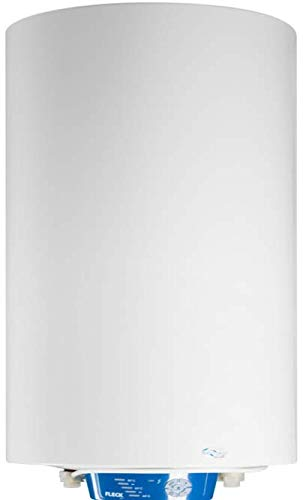 Fleck Grupo Ariston Termo Eléctrico 50 litros | Calentador de Agua Vertical y Horizontal, Multiposición, Serie Nilo – Control Electrónico de Temperatura, Resistencia Cerámica Envainada
