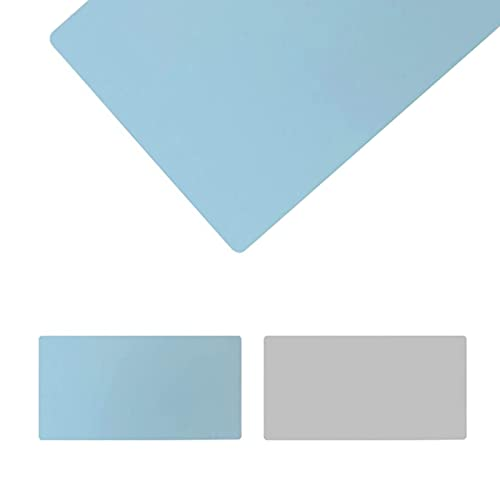 Protector de cuero para alfombrilla de escritorio, alfombrilla de ratón, alfombrilla de escritorio de oficina multifuncional, doble cara, impermeable, antideslizante alfombrilla de (Size:60x100)