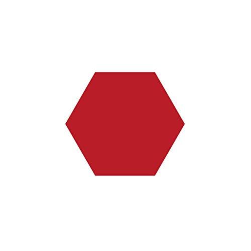 ZB-KK SZQ-akoestische platen wandstickers Hexagon vilt plank, kleur duurzaam zwart bord kantoordecoratie prikborden dikte: 12 mm akoestisch schuim