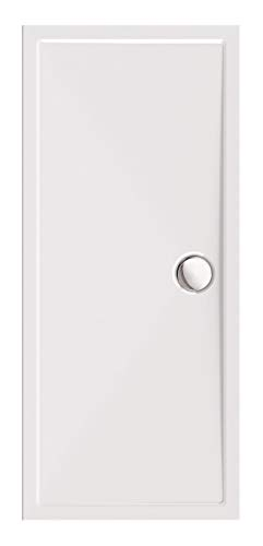 Calmwaters® - Modern Select - Flache Rechteck-Duschtasse in 170 x 75 x 2,5 cm aus Acryl-Kunststoff mit 90 mm Abfluss - 01SL2987
