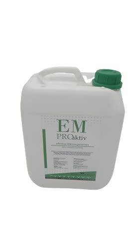 5 Liter Effektive Mikroorganismen 5 Ltr. EM Pro aktiv Bodenaktivator EM - Aktiv Kompostierung Bodenleben verbessern Bodenverbesserer Terra Preta - Herstellung