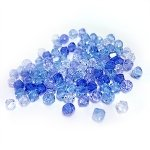 Cristallo SWAROVSKI - mix di biconi aquamarine 4mm (100)