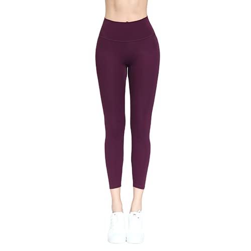 QTJY Leggings sin Costuras para Mujer, Pantalones de Ejercicio Push-up de Gimnasio, Pantalones de Yoga de Secado rápido con Levantamiento de Cadera de Cintura Alta E XL