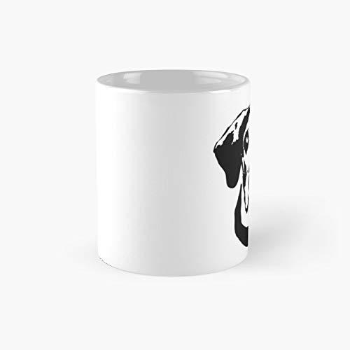 Taza clásica con diseño de perro danés de Monofaces para ti en 2020 | El mejor regalo divertidas tazas de café de 325 ml