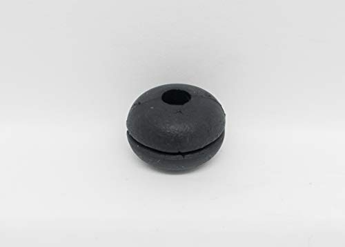 Pasacable Goma Øint 4,5 x Øext 15 mm Ranura 1 x altura 10 mm - A0103-15 unidades