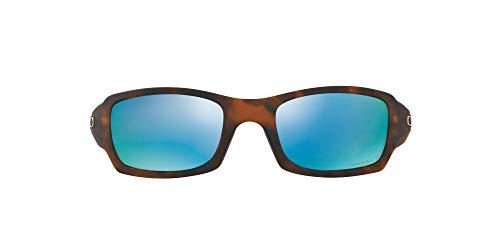 Oakley Herren Sonnenbrille FIVES SQUARED, Schwarz (Matte Tortoise), 54