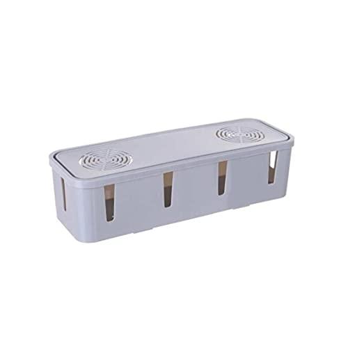 AAGOOD Caja de Cable de alimentación Cables eléctricos Ocultar Todos Tiras Cables de alimentación (Color al Azar) para Escritorio y televisión y Ordenador