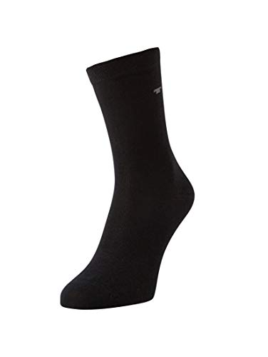 TOM TAILOR, Unisex - Kinder Socke 3 er Pack 9203, Gr. Schwarz (black - 610 ), Gr. 31-34