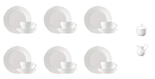 Hutschenreuther Maria Theresia Kaffeeservice 20-TLG Weiss