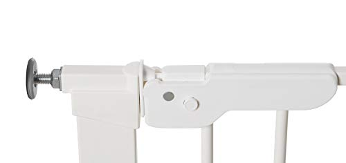 Baby Dan Premier Barrière à Fixation par Pression pour Porte/Escalier, Blanc, 92,5...