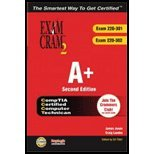 A+ Certification Exam Cram 2 (220-301, 220-302) (04) by Jones, James - Landes, Craig [Paperback (2003)]