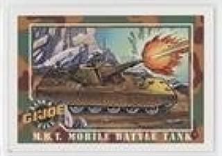 M.B.T. Mobile Battle Tank (Trading Card) 1991 Impel G.I. Joe - [Base] #11
