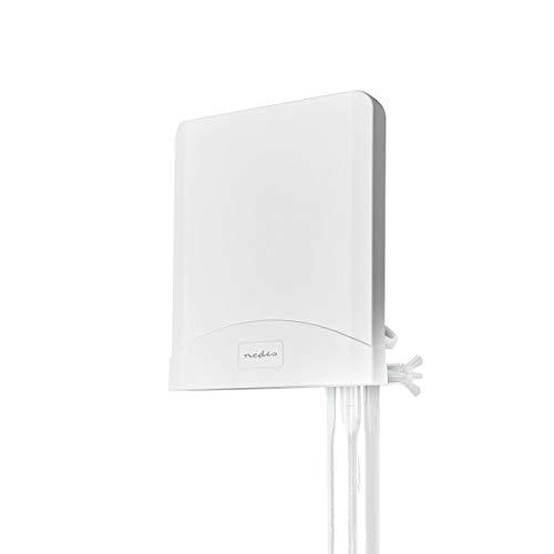 NEDIS 5G / 4G / 3G Antenne 5G / 4G / 3G Antenne | GSM / 3G / 4G / 5G | Innen- und Aussenbereich | 698-5000 MHz | Verstärkung dBi (bei Antennenkabel): 6 dB | 2.50 m | Weiss Weiss 2.50 m