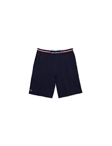 Lacoste Herren Short Sous-vetements Schlafanzughose, Blau (Marine 166), Medium