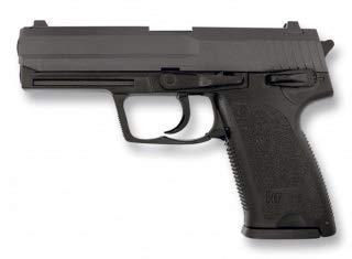 ALBAINOX - 35085 Pistola de Airsoft HFC. ABS Negra. Sistema de Muelle. Energia de 0,26 Julios. Herramienta para Caza, Pesca, Camping, Outdoor, Supervivencia y Bushcraft