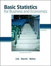 Basic Statistics for Business & Economics- Text [[7th (seventh) Edition]]