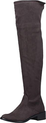 s.Oliver Damen 5-5-25500-23 Overknees, Grau (Dark Grey 212), 39 EU