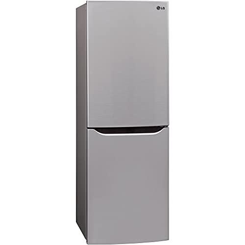 RV Refrigerator LG LBNC10551V 10.1 Cu. Ft. Refrigerator with Bottom Freezer in Platinum Silver with Reversible Door Refrigerator