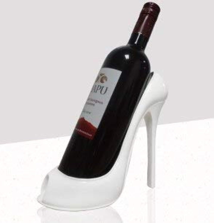 Creative High Heel Red Wine Holder Rack Kitchen Bar Display Wine Rack Craft Gift Handcrafted Wine Stand   2