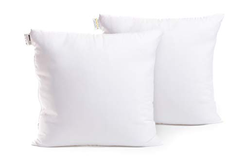 Jungle Home | Set 2 cuscini per divano 50x50cm | Imbottitura cuscini decorativi arredo divano, letto, poltrona | Riempimento extra 600g | Regolabile con zip | Indeformabile | Tessuto decorato lavabile