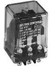 Electromechanical Relay 24VAC 72Ohm 13A DPDT (38.1x34.8x73.66)mm Flange General Purpose Relay ( 166F-DPDT-13A-24VAC )